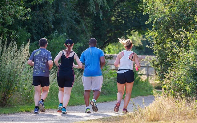 Running for obesity and health